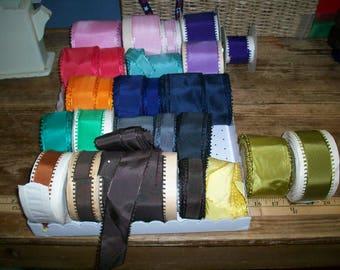antique picot taffeta ribbon
