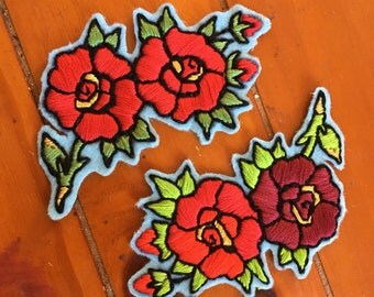 Rose Cluster Patch