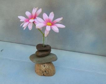 Bud Vase of Lake Superior Stone;  #20