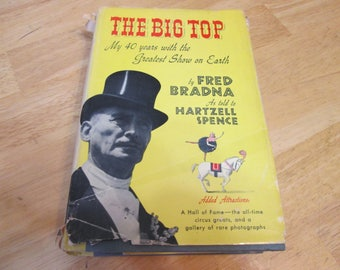 The Big Top By Fred Bradna