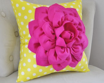 Pink YELLOW Pillow Cover, Gray Pillow, Pillow, Floral Pillow, Decorative Pillow, Gold, Gray, Blue .All Sizes, Cushion, Euro, Floral Cushion