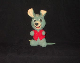 Vintage HANNA BARBERA DIXIE Plush of Pixie and Dixie Mouse Rare