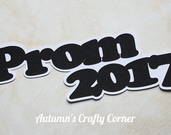 Prom 2017 - Premade Scrapbook Page Title