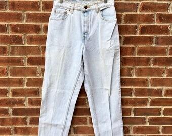 Vintage Women's Levi's 551 Jeans - USA - 28x29