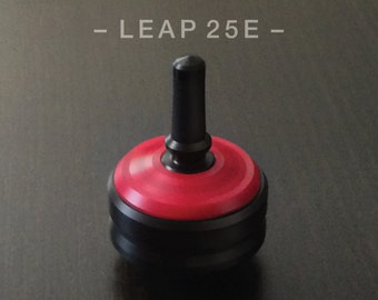 LEAP 25ERED – Spin Top with integrated rubber grip and ceramic tip