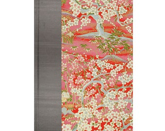 Address Book Large Red Enchanted Garden