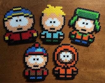Perler South Park Gang