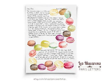 Macarons: Paris Letters, April, A letter about why the macaron is at the top of the dessert pyramid