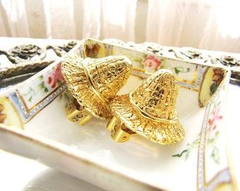 Vintage Escada Earrings Clip On Earrings Designer Earrings from AllieEtCie