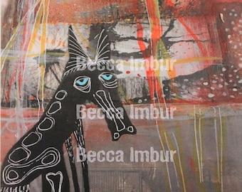 "INSTANT DOWNLOAD : Haggard 8"" x 10"" - Altered Book - Art Journal - Paper Art"