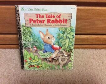 Peter Rabbit Little Golden Book