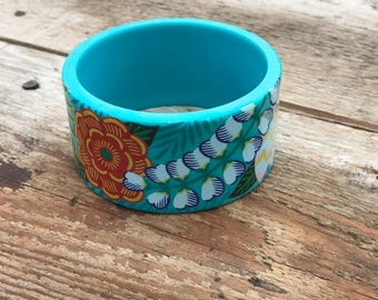 Tropical Plastic Bracelet