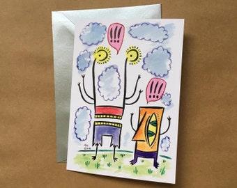 Greeting Card - Calamity (FREE DOMESTIC SHIPPING)