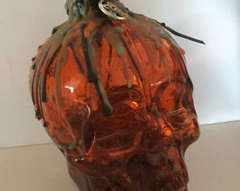 Road Opener Skull Potion Witch Bottle Wicca Pagan Spirituality Religion Ceremonies Hoodoo Metaphysical MaidenMotherCrone