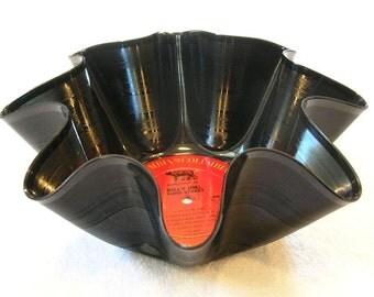 Billy Joel Record Bowl Made From Repurposed Vinyl Album