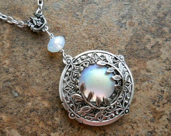Moonstruck Locket, Original Design by Enchanted Lockets