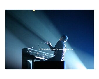"Chris Martin of Coldplay Concert Photo - 8"" x 10"""