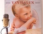 "ON SALE Van Halen Vinyl Record Album 1980s Hard Pop Rock Shredding Guitar MTV Heavy Lp ""1984"" (Original 1984 Wb records w/ ""Jump"" & ""Panama"""