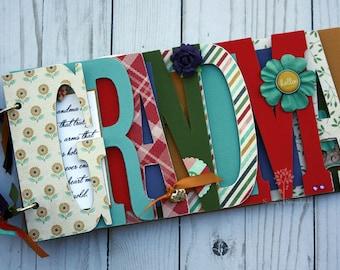 Grandma, Grandmother, Mother's Day gift, personalization, Mother, gift for mom, gift for grandma, photo album-MA6