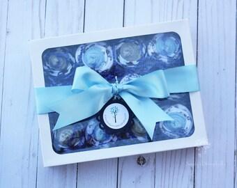 Baby boy washcloths / Baby boy bath / Baby shower gift