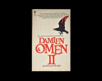 1970s Paperback: Damien Omen II by Joseph Howard. Futura Book. 1978. Horror. Crow.