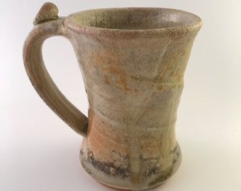 Orange-Tan and and Eggshell Mug (MCP162-7)