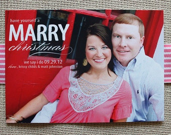 Have Yourself a Marry Christmas Save the Date