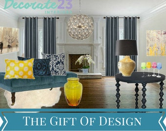 Gift Certificate, Interior Design, E-Interior Design, Online Interior Design, Home Decor, Mood Board, DIY Interior Design