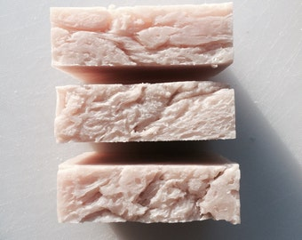 LOIZA- Rose Geranium Soap - Made with Organic Ingredients
