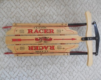 Flexible Flyer Doll Size Racer Sled Fits American Girl Doll