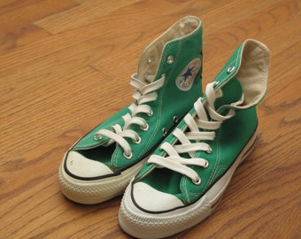 dead stock vintage made in USA Converse all star