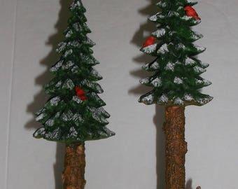 Dept-56-Village-Towering-Pines-Set-of-2