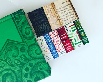Bookmark - Fine Art Photography - Book Photography - Bookworm - Bookish - Pride & Prejudice - Jane Austen - Colorful Books