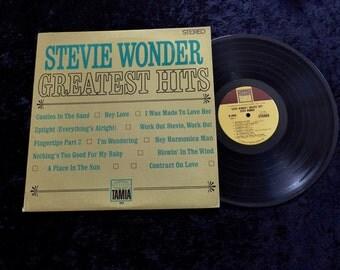 Stevie Wonder Greatest Hits  LP 1968  Tamla Vinyl Lp Record Album Lp  Very Clean  1st pressing Motown sound Soul