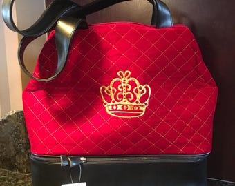 ROYAL COLLECTION knitting/ travel bag