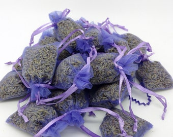 French Lavender Bud Sachets-2016 harvest