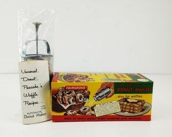 Vintage Donut Maker by Fairgrove on original box