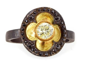 Medieval Round Diamond ring
