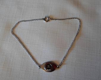 SOUTH DAKOTA BRACELET / University of South Dakota / 18+ Silver / College School Jewelry / Coyotes / Yotes / Unisex / Hip / Retro Accessory