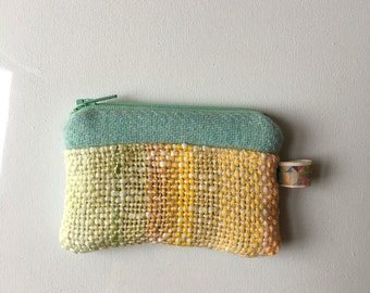 Little Wool Coin Purse With Sameheart Handwoven