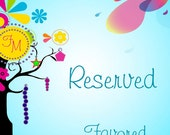 Reserved for o