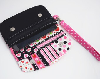 Teen Gift for Her, Smart Phone Clutch, Stadium Purse, Zookaboo, Ready to Ship