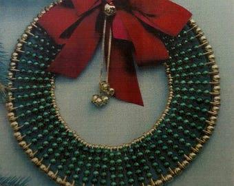 20-80 Metallic Green Wreath