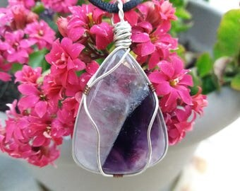 Inspired by a flower fairy Entity ~ Amethyst Pendant