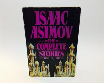 Vintage Science Fantasy Book Isaac Asimov - The Complete Stories Volume 2 1992 Hardcover Anthology