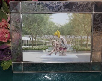 Lead Glass Picture Frame