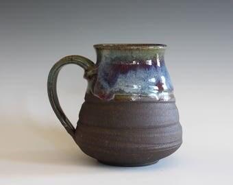 LARGE Mug, 20 oz, handmade ceramic cup, handthrown mug, stoneware mug, pottery mug, unique coffee mug, ceramics and pottery