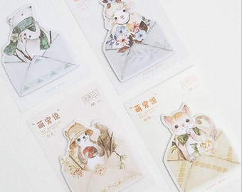 Cute Animals Sticky Notes - Stick Note Notepad Mini Notepad Post It
