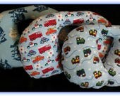 Travel Pillow - Car Seat Neck Support - Infant to Adult Sizes- Pirates / Skulls