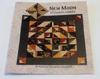 New Moon KT Classic Charms By Kansas Troubles Quilters Pattern